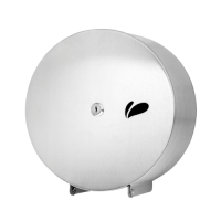Porta Rolao Papel Higienico Aço Inox polido 500 Metros