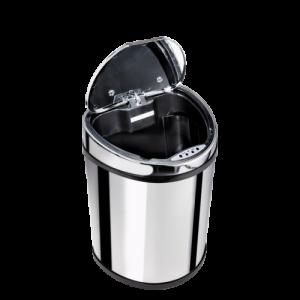 Lixeira em inox de 12 Litros com sensor de abertura automatica