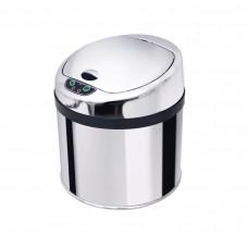 Lixeira em inox de 6 Litros com sensor de abertura automatica