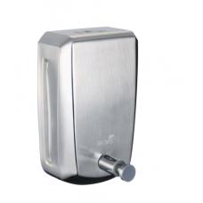 Saboneteira INOX P/ Alcool Sabonete Noble C/ Chave 800 Ml