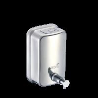 Saboneteira INOX Condicionador Hidratante Gel Liquido 500 Ml