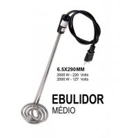Ebulidor medio 2000w 110v/220v Resistencia eletrica