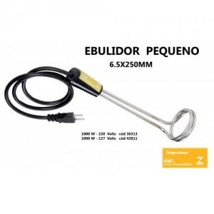 Ebulidor Pequeno 1000w 127/220v Aquecedor Agua Eletrico Inmetro