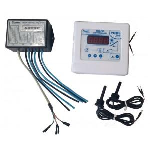 Controlador Solar de Temperatura para Piscina Pool Easy Hidroconfort Get