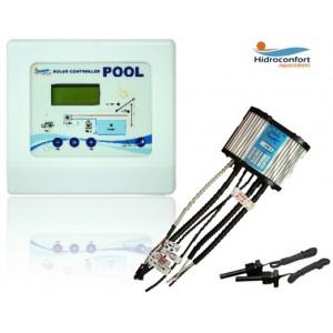 Controlador Solar aquecedor de Piscina Pool Luxo Hidroconfort Get