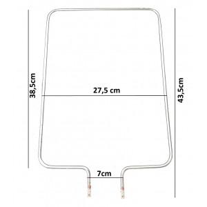 Resistencia Eletrica Forno Eletrico Layr Luxo 110v 220v 700w