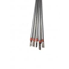 Resistência Eletrica Reta 40cm Estufa Forno 200w 220v