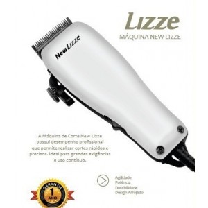 Máquina Cortar Cabelo Profissional New Lizze Inmetro