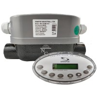 Aquecedor Hidromassagem Cromoterapia MAX CROMO DUO 5000/8000w 220v