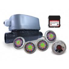 Aquecedor Hidro Banheira Ofuro Cromoterapia MAX CROMO 5000/8000w