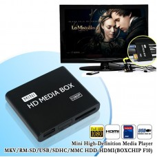 Mini Media Player Full Hd 1080p TV Saída Hdmi CVBS