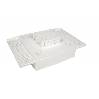 Caixa Embutir Painel Led Na Laje Plasled 18w 22x22cm