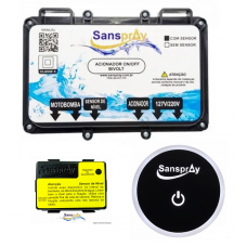 Acionador Eletrônico C/ Sensor De Nivel Motor Hidro Sanspray