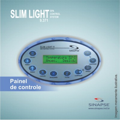 Painel Controlador De Spa  Sinapse Slim 9.371